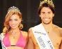 Luca Onestini Mister Italia e Margherita Molinari Miss Grand Prix con Jo Squillo e Luca Abete