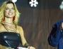 Maddalena Corvaglia sul palco dell'evento insieme a Giampiero Mughini