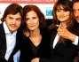 Penelope Cruz ed Emile Hirsch con Sergio Castellitto e Margaret Mazzantini