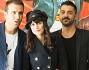 Alessandra Mastronardi con Pio e Amedeo il suo comico de 'Le Iene'