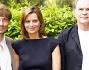 Giorgio Pasotti e Aleksei Guskov con Claudia Pandolfi