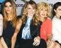 Le bellezze del film: Virginie Marsan, Katy Saunders, Martina Stella, Serena Autieri e Nancy Brilli
