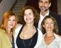 Sergio Muniz, Amanda Sandrelli, Marina Massironi ed Anna Galiena