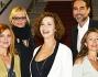 Sergio Muniz con Chiara Noschese, Amanda Sandrelli, Marina Massironi ed Anna Galiena