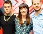 Mika, Fedez e Victoria Cabello con Alessandro Cattelan