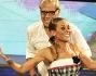Teo Teocoli e Natalia Titova sulla pista di Ballando con le Stelle 10