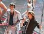 I Take That sul palco di Sanremo