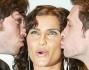 Nelly Furtado baciata dagli Zero Assoluto