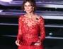 Madalina Ghenea in abito rosso