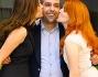 Checco Zalone con le bellissime Miriam Dalmazio e Aurore Erguy