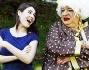 Diana del Bufalo e Platinette per presentare la nuova stagione teatrale 2014-2015
