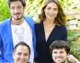 Paolo Ruffini, Nina Senicar, Frank Matano e Gianluca Fubelli sul set di 'Tutto molto bello'