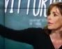 Cristina Parodi riprende in mano la situazione dopo lo sfogo di Vittorio Sgarbi