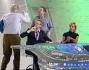 Il dibattito ha preso toni abbastanza accesi tra Vittorio Sgarbi e John Peter Sloan sotto gli occhi di Cristina Parodi