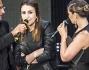 Elhaida Dani, vincitrice di The Voice, con Carlo Conti e Vanessa Incontrada
