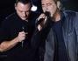 Duetto sul palco di X Factor per Luca Carboni e Tiziano Ferro