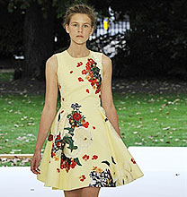 London Fashion Week PE2011: Erdem