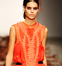 London Fashion Week PE2012: Bora Asku