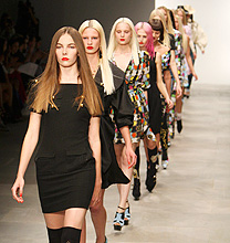 London Fashion Week PE2012: PPQ