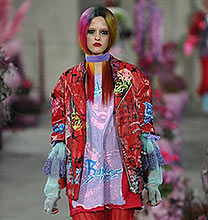 London Fashion Week PE2011: Meadham Kirchhoff