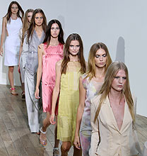 London Fashion Week PE2011: Nicole Farhi