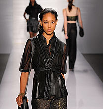 New York Fashion Week PE2011: Elie Tahari