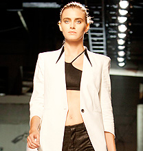 New York Fashion Week PE2012: Helmut Lang
