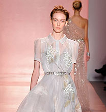 New York Fashion Week PE2011: Jenny Packham