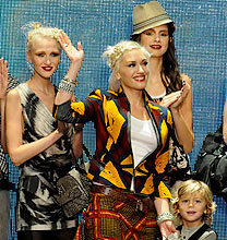 New York Fashion Week PE2011: Gwen Stefani