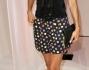 Colorati e spiritosi sugli shorts per Helena Christensen