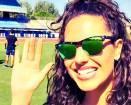 Laura Barriales, madrina di Serie A Tv bellissima