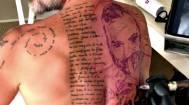 Gianluca Vacchi, un nuovo tatuaggio