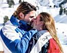 Luca Onestini e Ivana Mrazova piccioncini in montagna