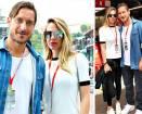 Totti e Ilary al Gran Premio di Monte Carlo