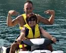 Pezzopane e Simone Coccia, vacanze d'amore