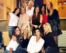 Elisabetta Canalis, cena per i 40 anni con le amiche