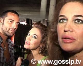 Lory Del Santo e Rocco innamoratissimi