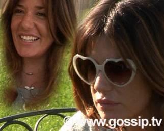 Paparazzata: Alessia Fabiani sweet heart