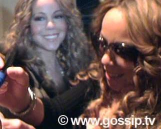 Mariah Carey fa impazzire Milano