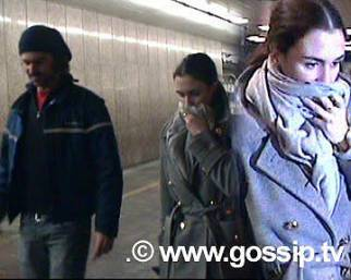 Paparazzata: Paz Vega a Milano