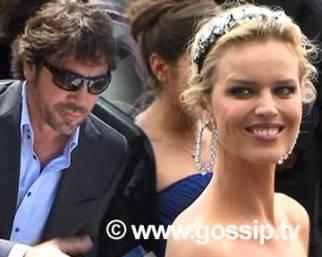 Eva Herzigova incanta Cannes