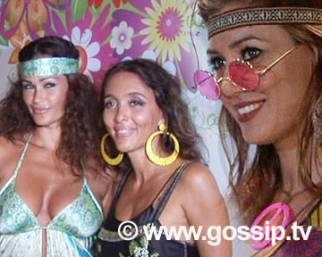 De Grenet e Martani hippie al 'Flower Party'