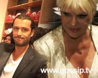 Ivana alla sfilata, Rossano in boutique