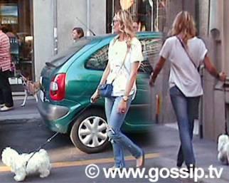 Elenoire Casalegno, lei, il cane e Luca...