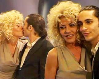 Eva Grimaldi, con Simone l'amore continua