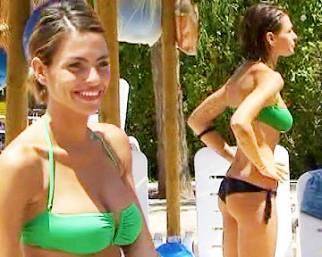 Pamela Camassa in bikini