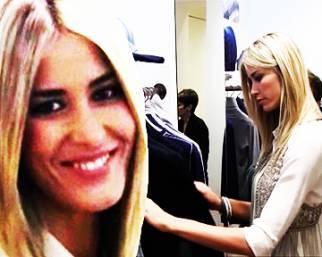 Elena Santarelli, amore per il cashmere