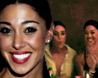 Belen Rodriguez, serena e felice con le amiche