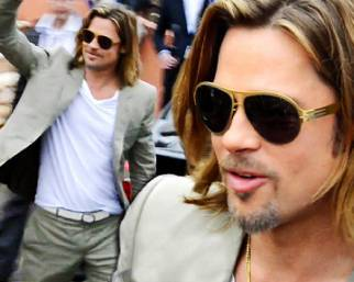 Brad Pitt a Cannes, bello e possibile