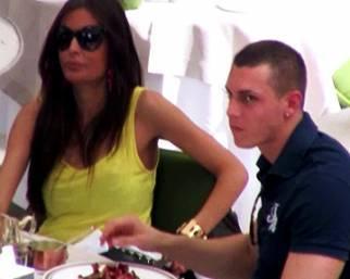 Claudio D'Alessio, pranzo romano con Cristina Buccino